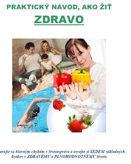 E - kniha Praktický návod, ako žiť zdravo